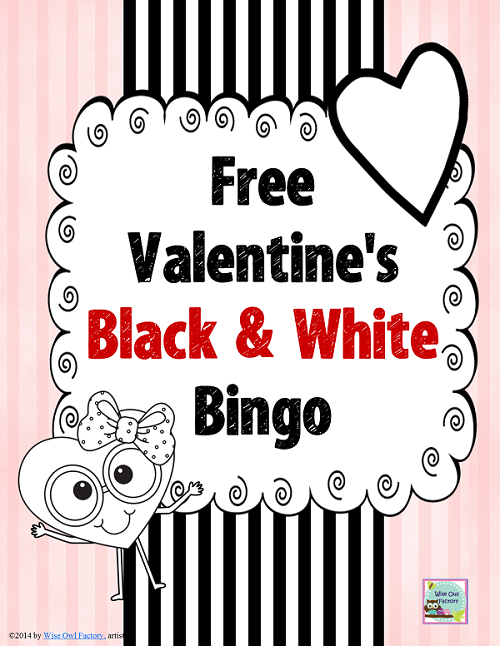 Valentine's Day Bingo Games Freebies