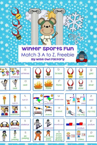 winter-olympic-matching-cards-vocabulary