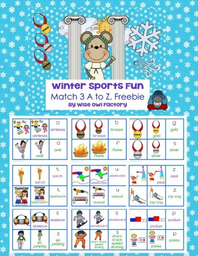 Winter Sports Fun Match 3, A to Z