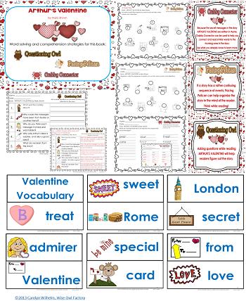 Arthur's Valentine section