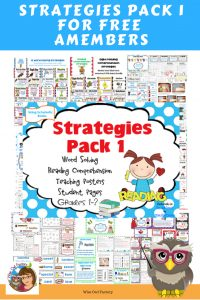 word-solving-skills-reading-comprehension-strategies-pack-one