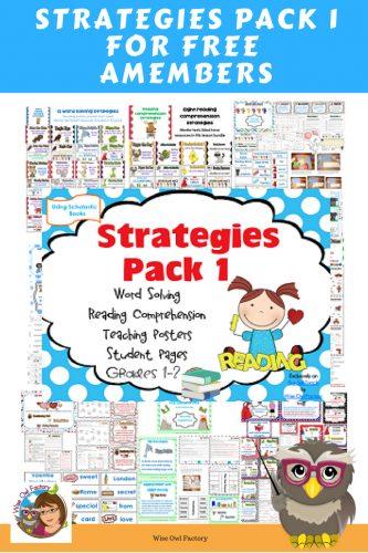 word-solving-skills-reading-comprehension-strategies-pack-one