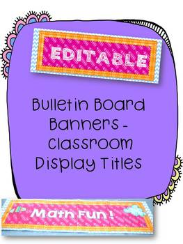 Bulletin-Board-Banners-Clasroom-display-titles-EDITABLE