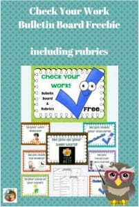 bulletin-board--to-remind-students-to-produce-quality-work-free-with-rubrics