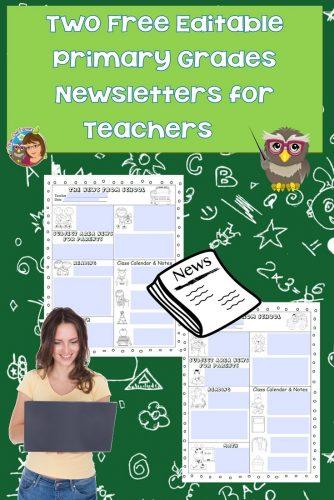 editable-news-letters-for-teachers-of-K-2-grades-free-PDF