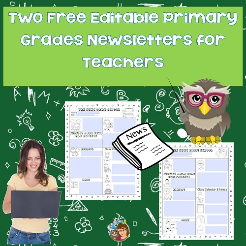editable-news-letters-for-teachers-of-K-2-grades