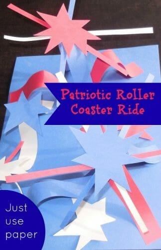 Free Printable Patriotic Roller Coaster Ride