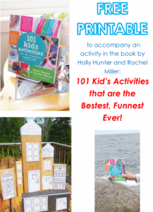 free printable for the book by Holly Homer and Rachel Miller