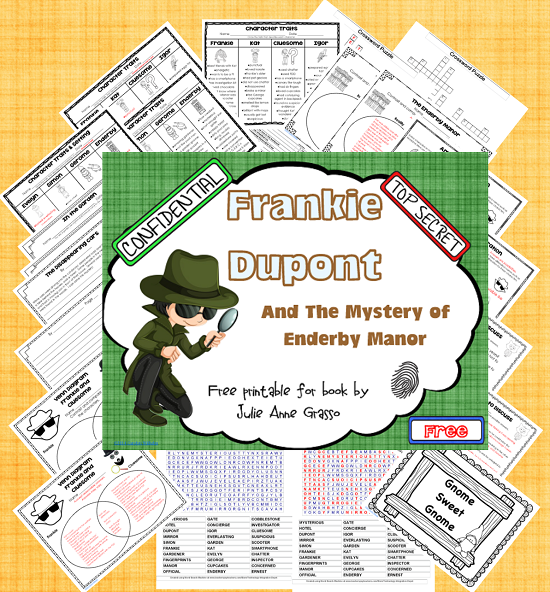 Frankie Dupont and the Mystery of Enderby Manor Freebie