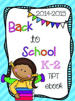 K-2 Back-to-School-Free-ebook-from-TPT-Authors