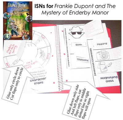Frankie Dupont and the Mystery of Enderby Manor Free Foldables