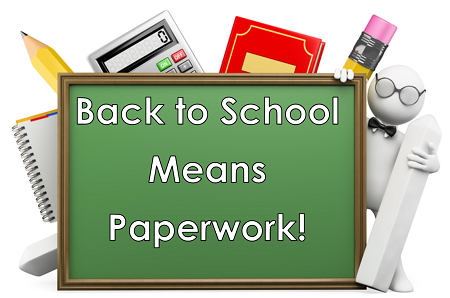 Back to School Means Paperwork for Teachers