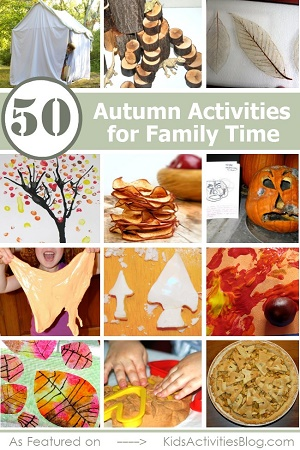 kid's activities blog 50 fall activities for family time