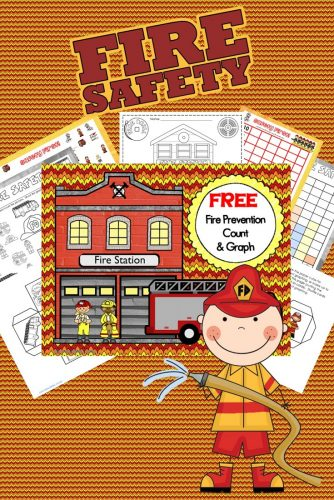 fire-safety-graph-count-math-center-freebie