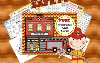 fire-safety-graph-count-math-center-printable-download