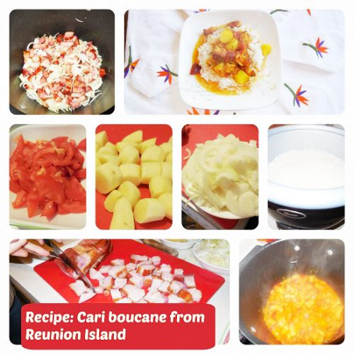 Recipe Cari boucane from Reunion Island