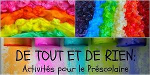 De Tout Et de Rien Blog for Preschool