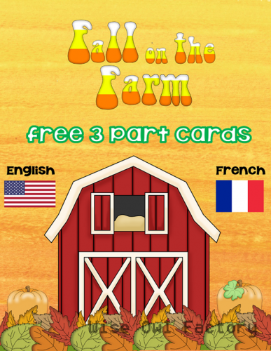 free fall-at-the-farm-3-part-cards