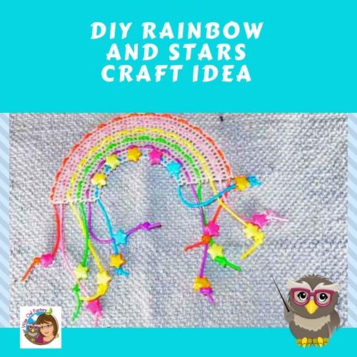 DIY-rainbow-and-stars-craft-idea-with-step-by-step-photos