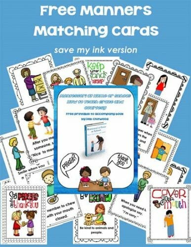 Free-Save-My-Ink-Manners-Matching-Cards