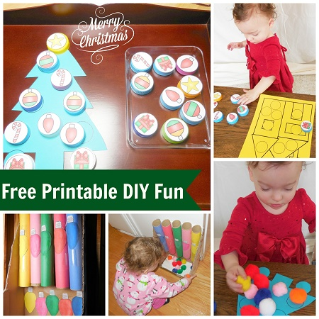Christmas Read and Play Blog Hop and Free Printable