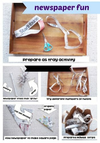 Fun Activities With Recycled Newspapers