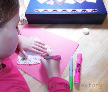 Valentine activities color-the-doily-for-Valentine's Day