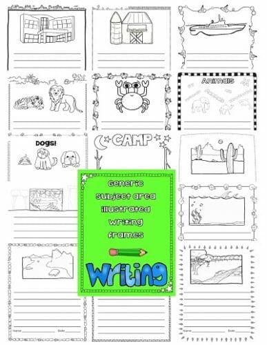 Editable Grade 2 Writing