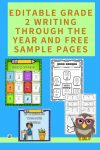 editable-grade-2-writing-through-the-year-prompts-covers-and-free-samples