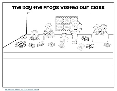 writing prompt what if our class was full of frogs