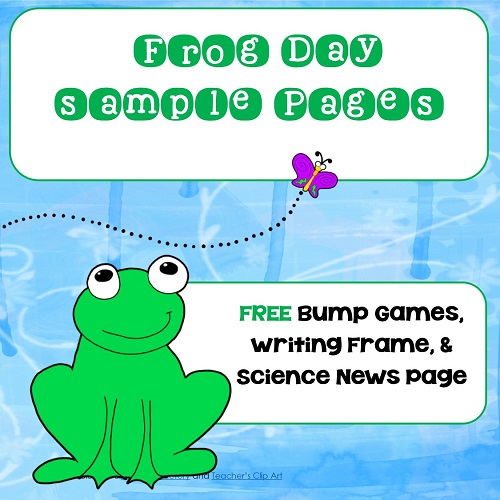 frog-theme-emergent-reader-plus-math-bump-games-free