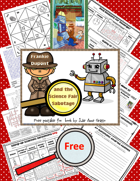 Frankie Dupont and the Science Fair Sabotage Freebie