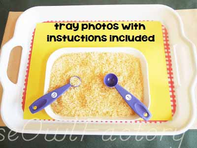 non-standard mesurement --photos-of-trays-in-use-with-instructions-included-in-printable