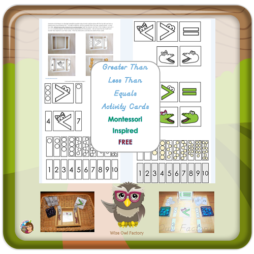 Free Montessori Inspired Printables for eMembers