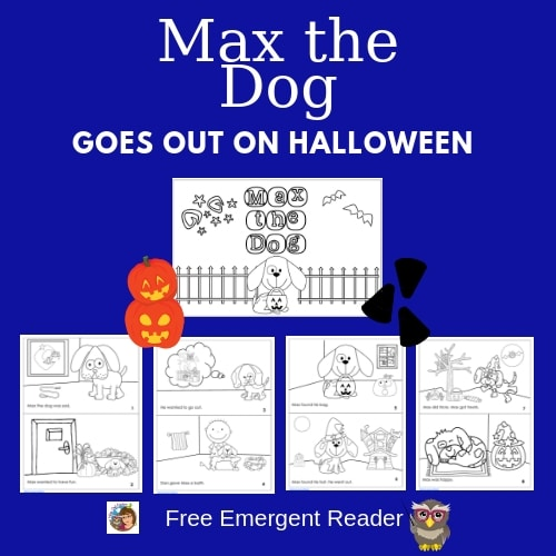 Max-the-Dog-Goes-Out-on-Halloween-free-emergent-reader-PDF
