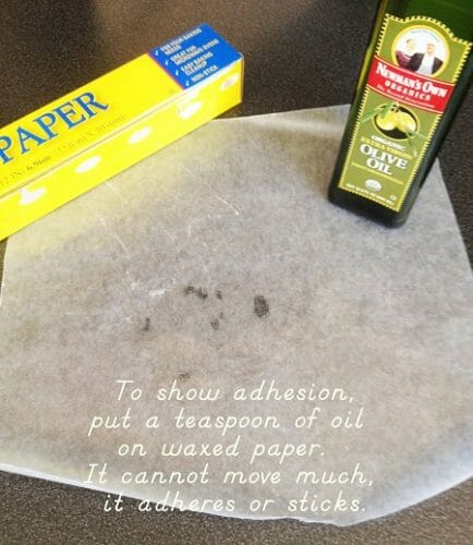 demonstrate adhesive with this simple activity