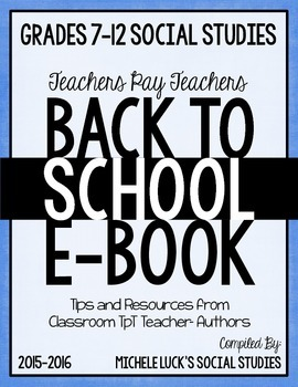 Back-to-School-Social-Studies-More-eBook-for-Grades-7-12-2015-16-school-year