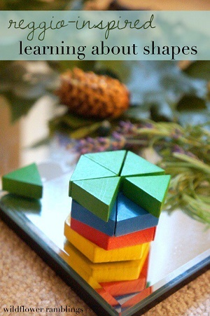Reggio-inspired-learning-about-shapes-by-Wildflower-Ramblings