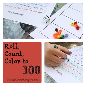 roll-count-to-100-math game with step by step photos and information
