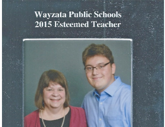 2015 Wayzata Schools Esteemed Teacher