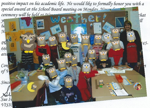 A classroom full of wise owls!