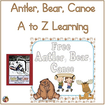 antler-bear-canoe-wilderness-a-to-z-literacy