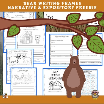 free-bear-writing-frames-narrative-and-expository