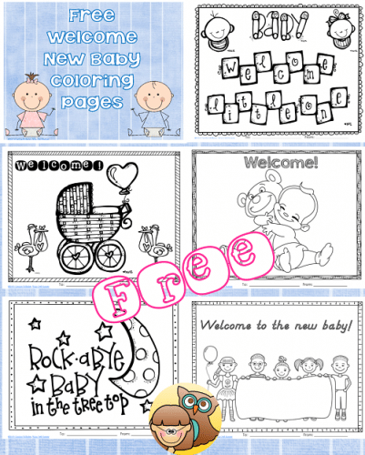 free-new-baby-coloring-pages