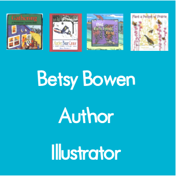 Author and illustrator Betsy Bowen of Grand Marais, MN