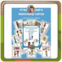 Free-Manners-Matching-Cards