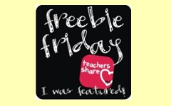 Friday-Freebie-Teaching-Blog-Addict