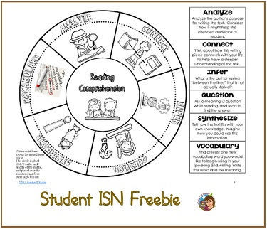 Student-ISN-reading-strategy-freebie