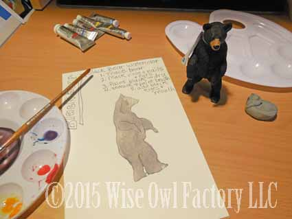 black-bear-watercolor-first-coat-of-black