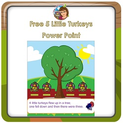 free-5-little-turkeys-Power-Point